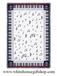 Chords Blanket, Musical Throw