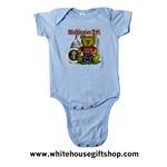 President Baby Clothing Onesie, Bodysuit, President,  Washington DC Bear,  White House Gift Shop