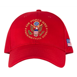 hats-hat-air force one-presidents-president-donald-j-trump-seal of the president-100% made in USA-POTUS-white embroidery-official-white-house-gift-shop-presidents-gifts-collection-high resolution photo-signed-presidential-certificate