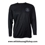 Air Force One Black Long Sleeve Shirt from the Official White House Gift Shop