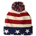 American Flag Beanie Hat or Cap from the White House Official Gift Shop.