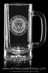 The White House Navy Mess Gift Shop Beer and Beverage Glass Mug