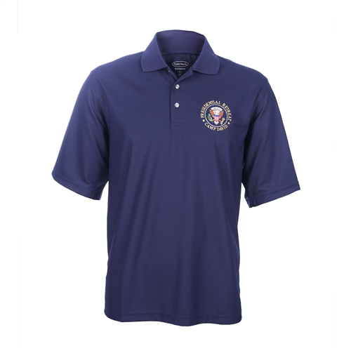camp david presidential retreat polo shirt. Black Bedroom Furniture Sets. Home Design Ideas