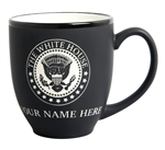 The White House Seal  Bistro Mug, Seal of President, 15 oz capacity