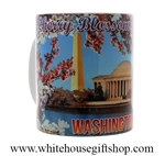 Washington DC Cherry Blossom Mug