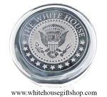 The White House Glass Paperweight