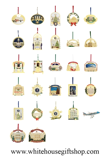 Official White House Ornament Collection