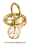 Gold Classic Pacifier Ornament