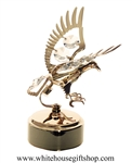 Gold Great American Eagle Music Box with Swarovski® Crystals