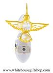 Gold Mini Hummingbird Nightlight with Swarovski® Crystals
