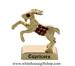 Gold Constellation Zodiac Collection: Capricorn