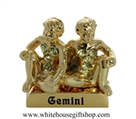 Gold Constellation Zodiac Collection: Gemini