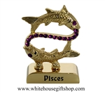 Gold Constellation Zodiac Collection: Pisces
