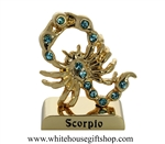 Gold Constellation Zodiac Collection: Scorpio