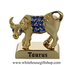 Gold Constellation Zodiac Collection: Taurus