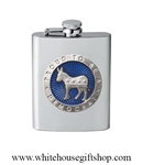 Heritage Pewter Democrat Flask