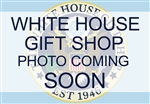 The First Annual White House Bobble Doll: Abraham Lincoln Inside the White House by the Christmas Tree and Reading a Message Relevant to all Americans Today.  Giannini Design.