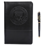 National Security Room House Seal Folio & Lacquer Pen