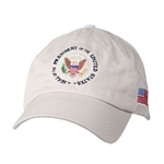 Embroidered Presidential Seal Hat