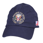 Obama Embroidered Presidential Seal Blue Embroidered Hat