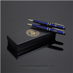 President Trump Pens with Presidential Seal Pens in White House Presentation Box. Designed by Artist Anthony Giannini.