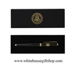 White House Seal Black Pen