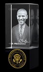 President Barack Obama Statue and Hologram with Seal of the President from the Official White House Gift Shop is designed by historical artist Anthony Giannini for our historical presidential gifts collection includes signed Certificate of Authenticity.