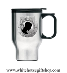Heritage Pewter POW MIA Travel Mug