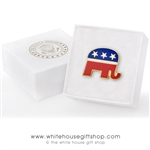 Republican Part Lapel Pin from the official White House Gift Shop