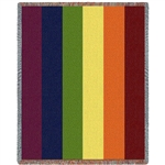 Rainbow Colors Blanket and Throw
