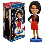 First Lady Michelle Obama Bobblehead, Wobbler, Nodder from White House Gift Shop