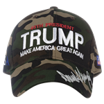 Donald J. Trump, camo hat, camouflage hats-Make America-Great-Again-from official white house gifts and gift shop-historical collection.