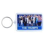 donald j. trump-melania trump-family members-photograph-keyring-key chain-white house gift shop-original secret service store