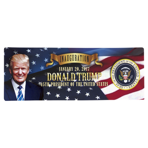 President Donald J. Trump Inauguration Magnet