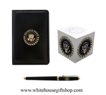 White House Jotter Black Lacquer Set