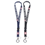 Detachable White House Key Fob and Lanyard