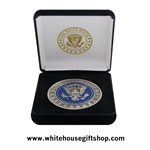 The White House and Seal of the President Coin
