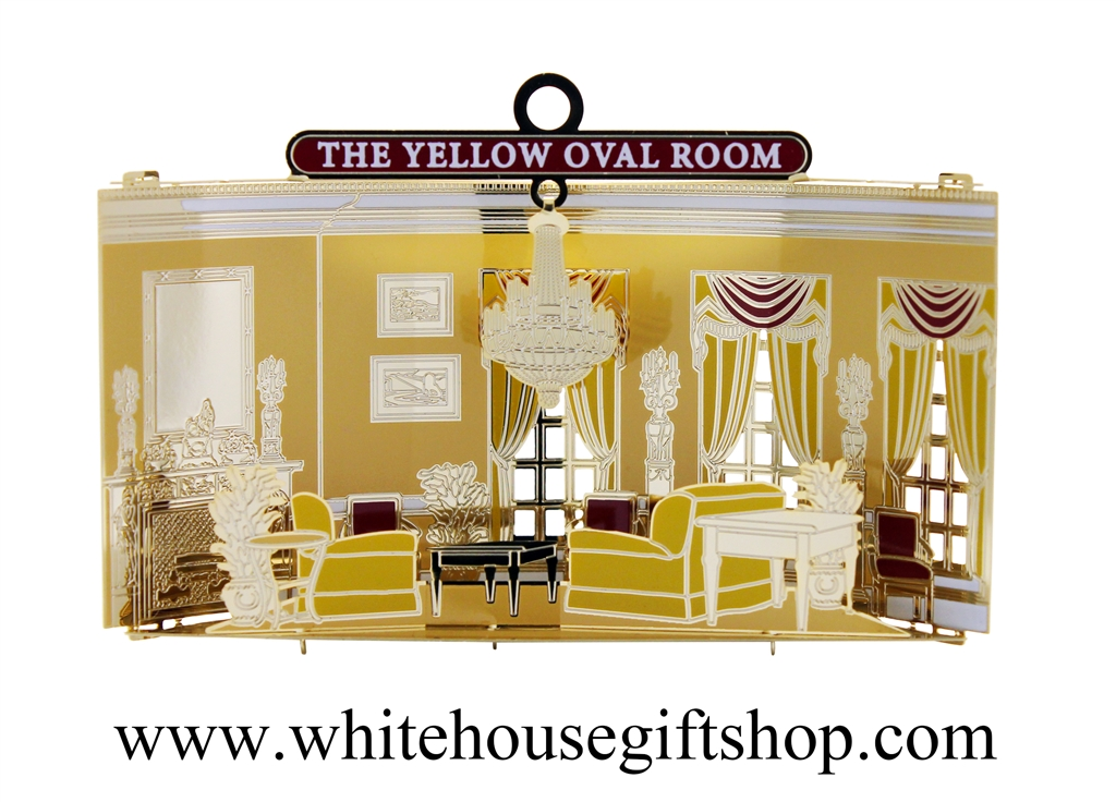 New The Rooms Of The White House Ornament Collection The