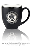 The White House Seal Presidential 15 ounce Bistro Mug, etched in America
