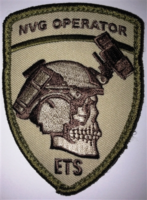 NVG Operator Patch - Embroidered