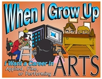 When I Grow Up I Want a Career in the Applied, Fine, and Performing Arts