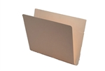 11pt Manila Folder, End Tab, Letter Size, No Fasteners, Outside Back Double Pocket