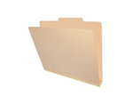 <b> Manila Heavy Duty Classification Top Tab, No Fasteners, No Dividers, Legal Size</b>