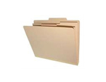 <b> Manila Heavy Duty Classification Top Tab, 6 Fasteners, 2 Dividers, Legal Size</b>