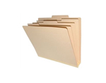 <b> Manila Heavy Duty Classification Top Tab, 8 Fasteners, 3 Dividers, Legal Size</b>