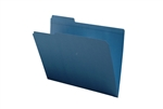 <b>Colored Standard Duty, Reinforced 1/3 Cut Top Tab, Letter Size, No Fasteners</b>