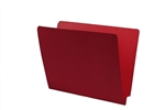 14pt Colored Folder, End Tab, Letter Size, 1 Fastener