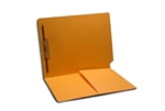 11pt Colored Folder, End Tab, Letter Size, 1 Fastener