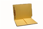 14pt Colored Folder, End Tab, Letter Size, No Fasteners