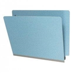 20pt Type I Pressboard Folder, End Tab